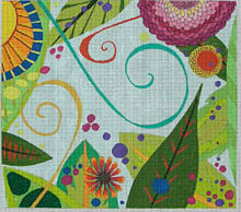 click here to view larger image of Summer - 18ct (hand painted canvases)