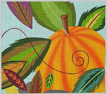 click here to view larger image of Fall - 13ct (hand painted canvases)
