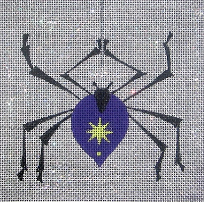 click here to view larger image of Spider Square (hand painted canvases)