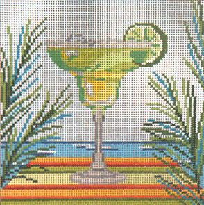 click here to view larger image of Classic Margarita - 18ct  (hand painted canvases)