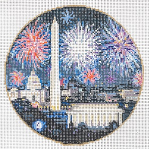 click here to view larger image of National 4th (hand painted canvases)