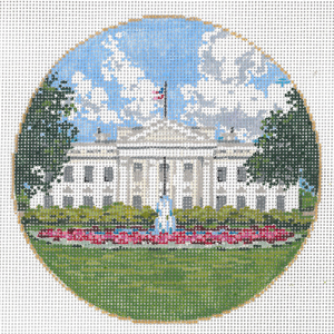 click here to view larger image of White House (hand painted canvases)