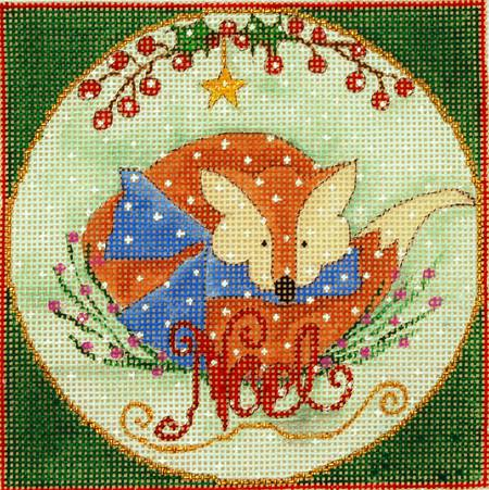 click here to view larger image of Woodland Wishes - The Fox (Large) (hand painted canvases)