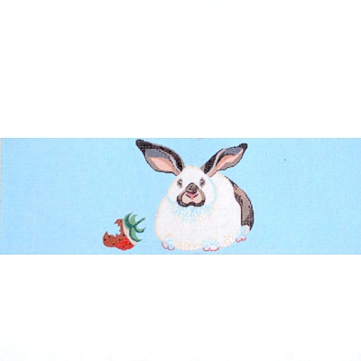 click here to view larger image of Childs Rabbit Directors Chair Back (hand painted canvases)