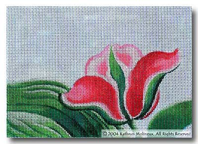 click here to view larger image of Details - Tulips (hand painted canvases)