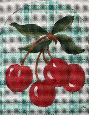click here to view larger image of Cherries Dome (hand painted canvases)