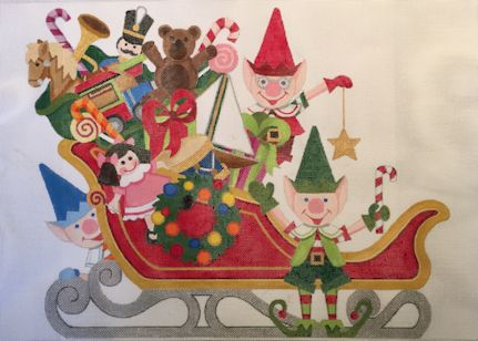 Santas Sleigh - click here for more details