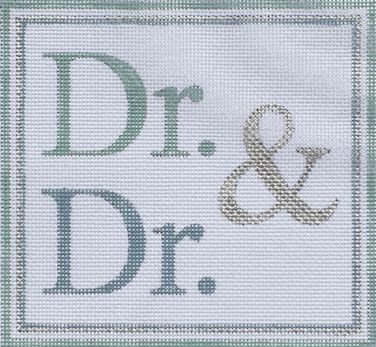 click here to view larger image of Dr and Dr (hand painted canvases)