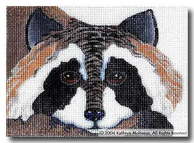 click here to view larger image of Raccoon (hand painted canvases)