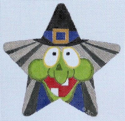 click here to view larger image of Witch Star (hand painted canvases)
