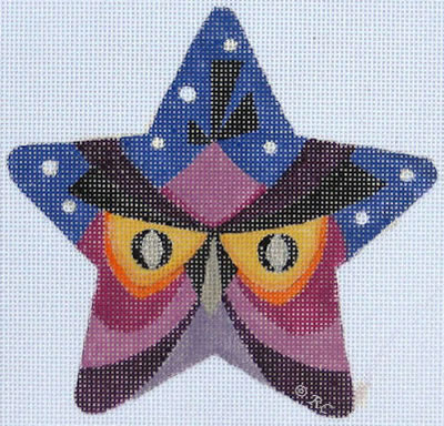 click here to view larger image of Owl Star (hand painted canvases)