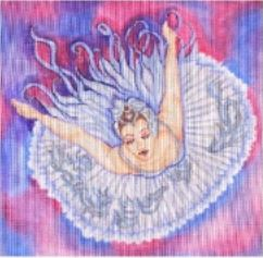 click here to view larger image of Ballerina (hand painted canvases)