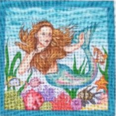 click here to view larger image of Mermaid (hand painted canvases)