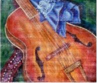 click here to view larger image of Accoustic (hand painted canvases)
