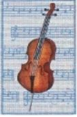 click here to view larger image of Cello (hand painted canvases)