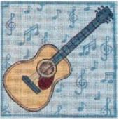 click here to view larger image of Acoustic Guitar (hand painted canvases)