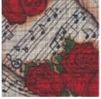 click here to view larger image of Sheet Music (hand painted canvases)