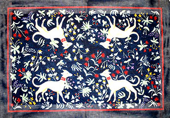 click here to view larger image of Tapestry Hounds (hand painted canvases)