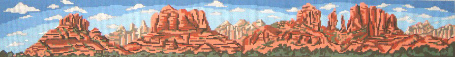 click here to view larger image of Sedona - Arizona (hand painted canvases)