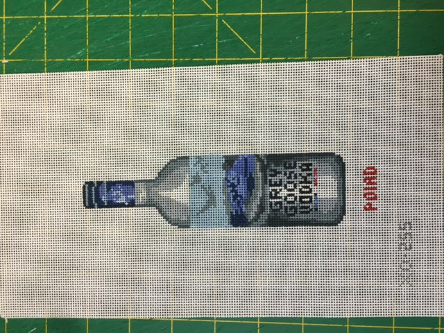 click here to view larger image of Grey Goose Vodka Ornament (hand painted canvases)