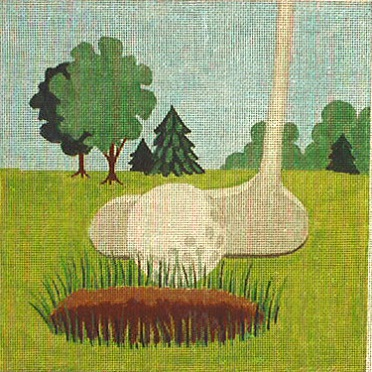 click here to view larger image of Putter (hand painted canvases)
