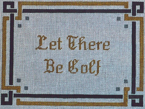 click here to view larger image of Let There Be Golf (hand painted canvases)