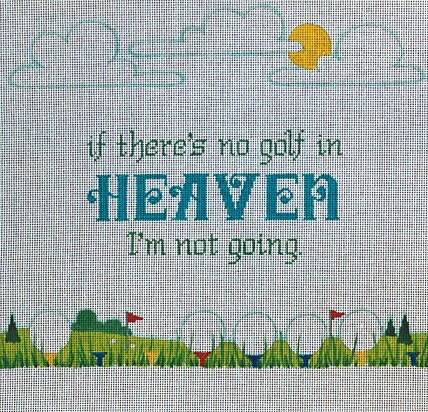 No Golf In Heaven - click here for more details