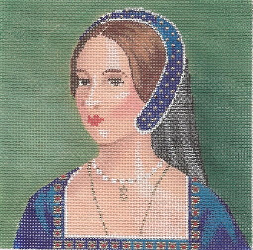 click here to view larger image of Anne Boleyn (hand painted canvases)