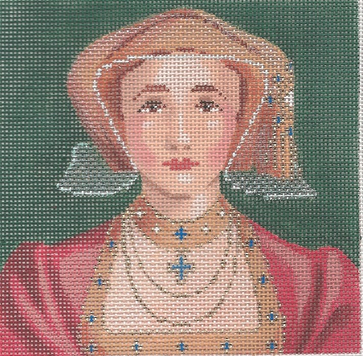 click here to view larger image of Anne of Cleeves (hand painted canvases)