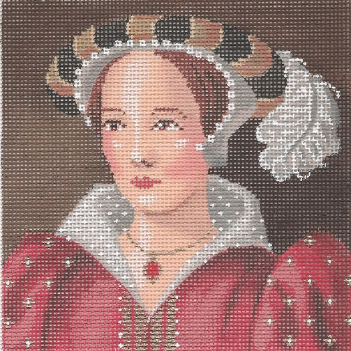 click here to view larger image of Katherine Parr (hand painted canvases)