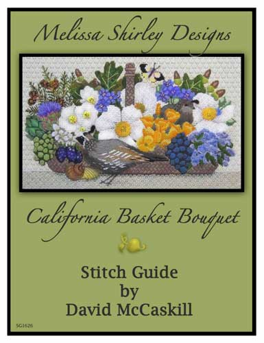 click here to view larger image of California Basket Bouquet Stitch Guide (books)