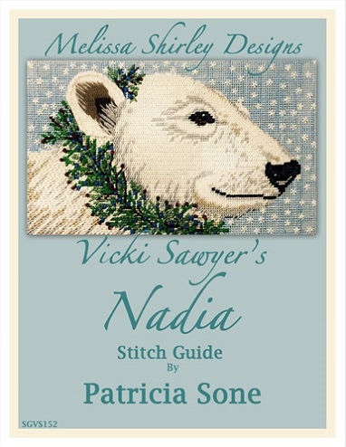 click here to view larger image of Nadia Stitch Guide - Patricia Sone (books)