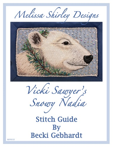 click here to view larger image of Snowy Nadia Stitch Guide - Becki Gebhardt (books)