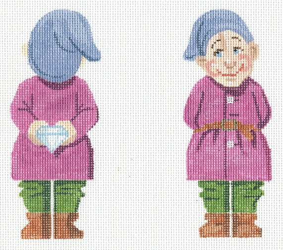 click here to view larger image of Dopey (hand painted canvases)