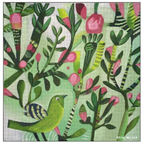 click here to view larger image of Spring Birds (hand painted canvases)
