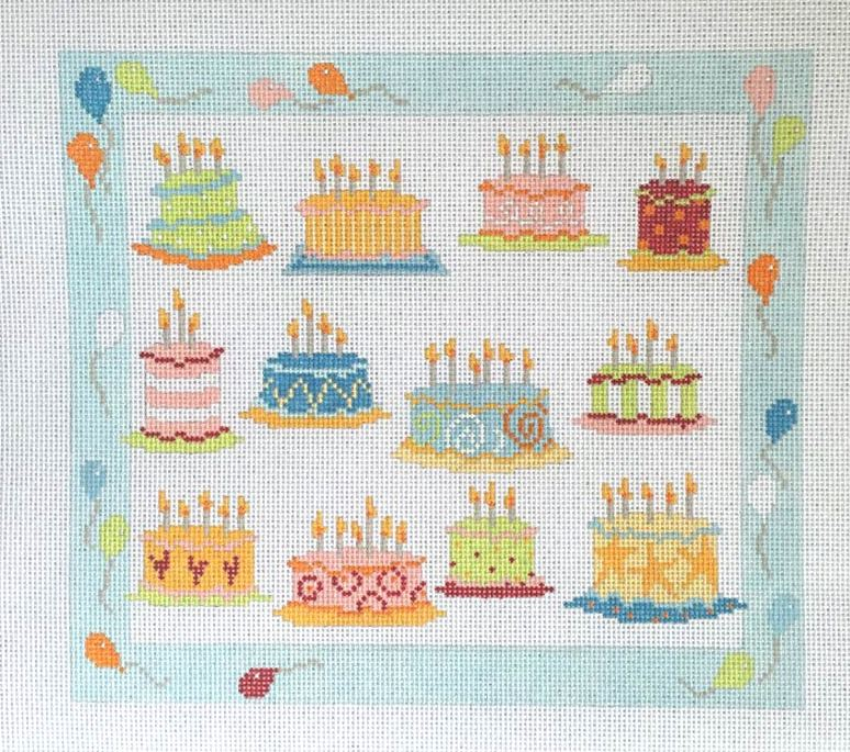 Dozen Birthday Cakes - click here for more details