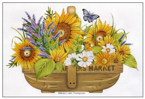 Sunflower Basket - click here for more details
