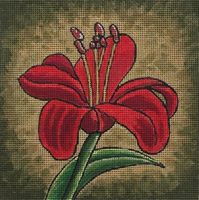 click here to view larger image of Amaryllis (hand painted canvases)
