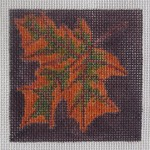 click here to view larger image of Autumn Leaf (hand painted canvases)