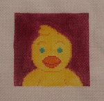 click here to view larger image of Chick (hand painted canvases)
