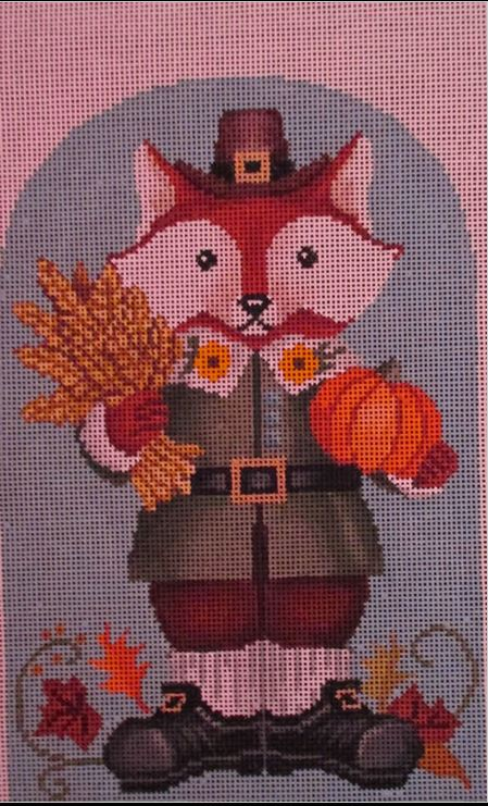 click here to view larger image of Harvest Fox Boy (hand painted canvases)