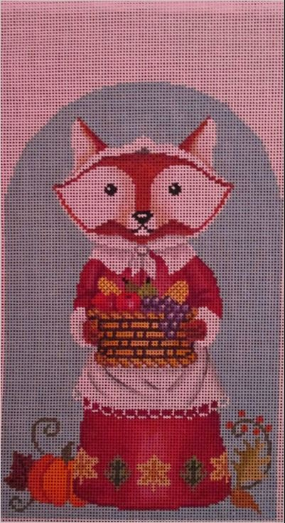 click here to view larger image of Harvest Fox Girl (hand painted canvases)
