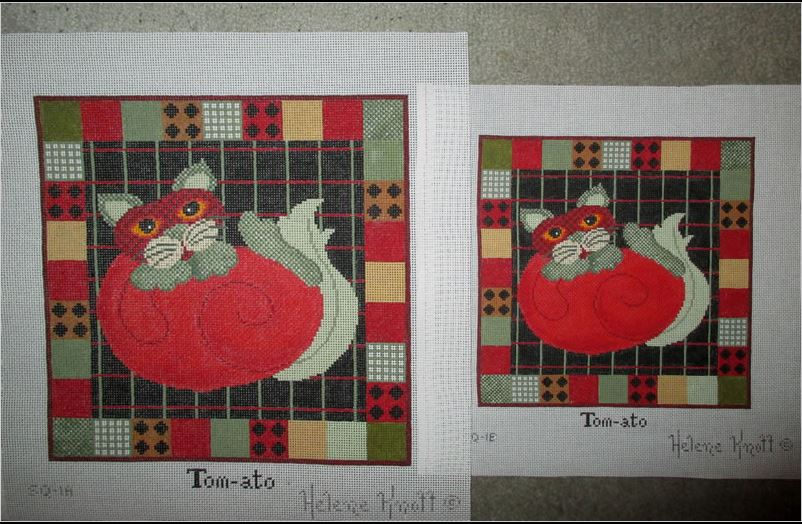 click here to view larger image of Tom-ato - 18ct (hand painted canvases)