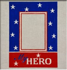 click here to view larger image of My Hero Frame - Vertical (hand painted canvases)
