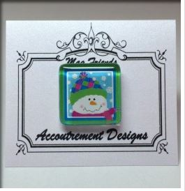 click here to view larger image of Patches Glass Magnet (accessories)