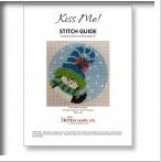 click here to view larger image of Kiss Me Penguin Stitch Guide (books)