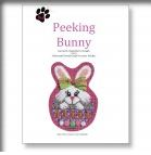 click here to view larger image of Peeking Bunny Stitch Guide (books)