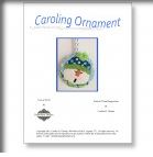 click here to view larger image of Caroling Snowman Ornament Stitch Guide (books)