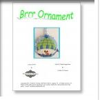 click here to view larger image of Brr... Snowman Ornament Stitch Guide (books)