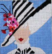 click here to view larger image of My Fair Lady (hand painted canvases)